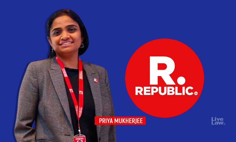 BREAKING : Karnataka High Court Grants Transit Bail To Republic TV COO Priya Mukherjee For 20 Days In TRP Scam FIR