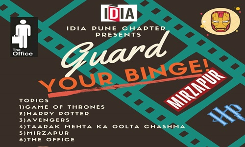 IDIA Punes Pop Culture Themed Debate Competition: Guard your Binge; Register by 8th December