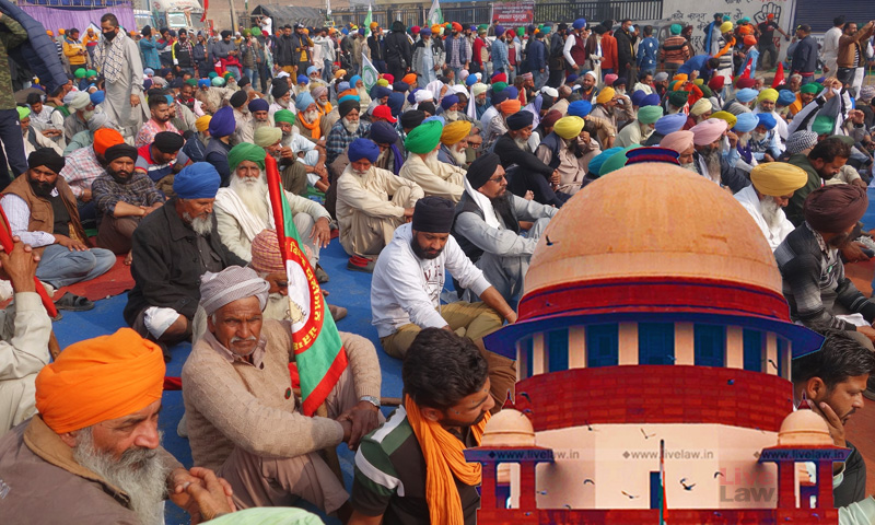 Right To Protest Does Not Include Maligning Nation Globally; Delhi Police Moves SC For Ban On Tractor March Planned On Republic Day