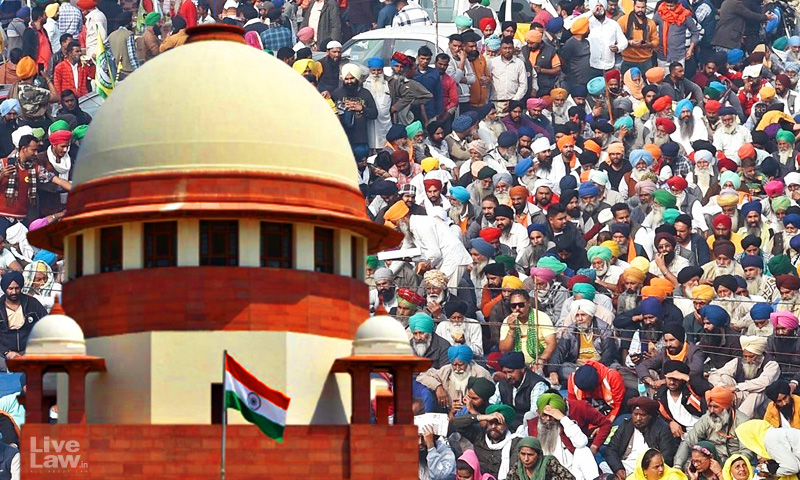 Farmers Happy With Laws; Wrong Perception Created By Non-Farmer Elements : Centres Affidavit In SC On Farmers Protests