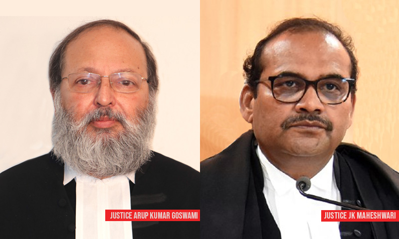 Justice AK Goswami Appointed As New Chief Justice Of Andhra Pradesh High Court, Justice JK Maheshwari New Sikkim CJ