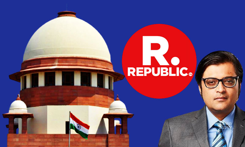 Supreme Court Dismisses Republic TVs Plea To Quash FIR For Allegedly Trying To Cause Disaffection Among Police Personal As Withdrawn