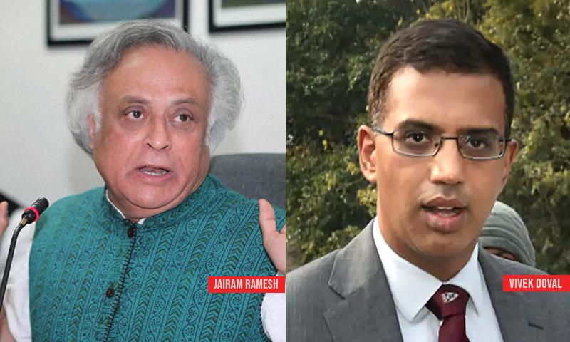 Delhi Court Closes Defamation Case After Jairam Ramesh Apologizes To Vivek Doval