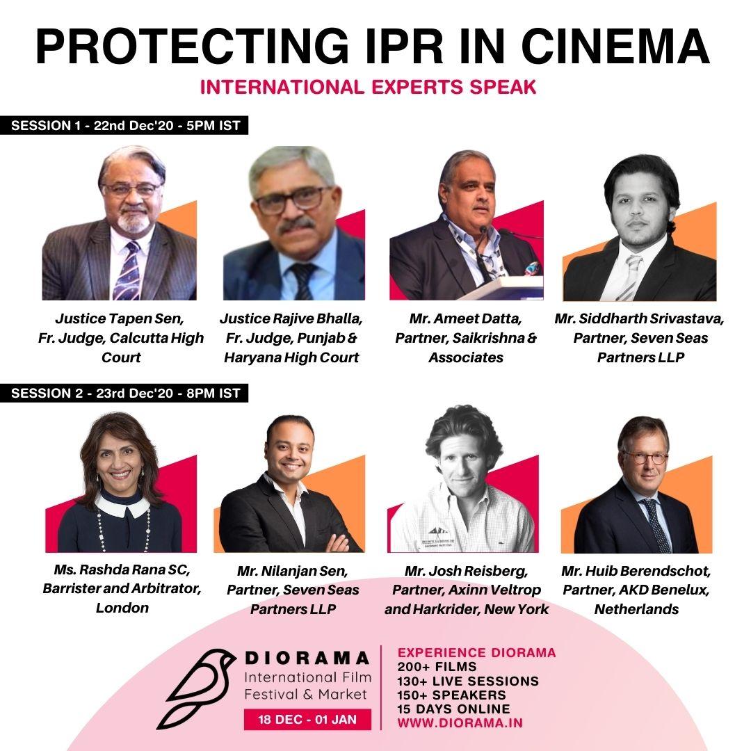 \Webinar On Protection Of IPR In Cinema By Diorama International Film Festival 2020