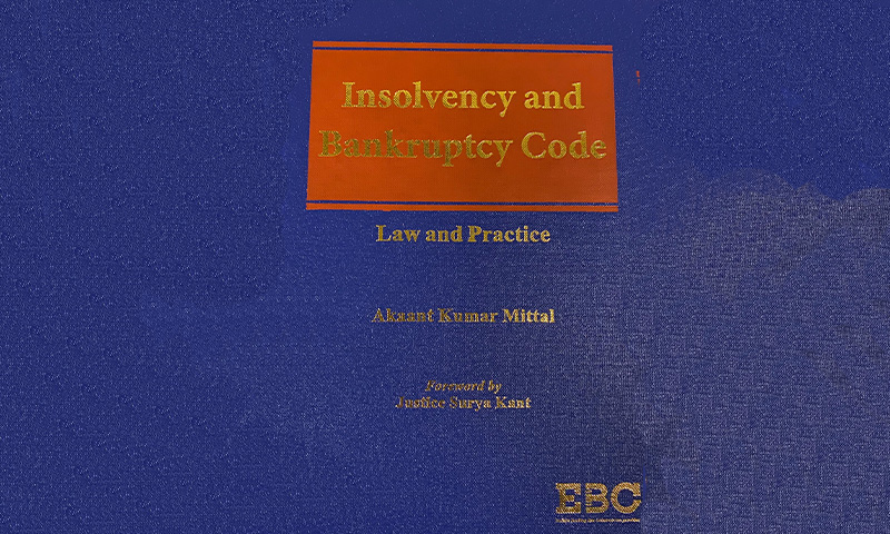 Book Review Of Insolvency And Bankruptcy Code- Law And Practice