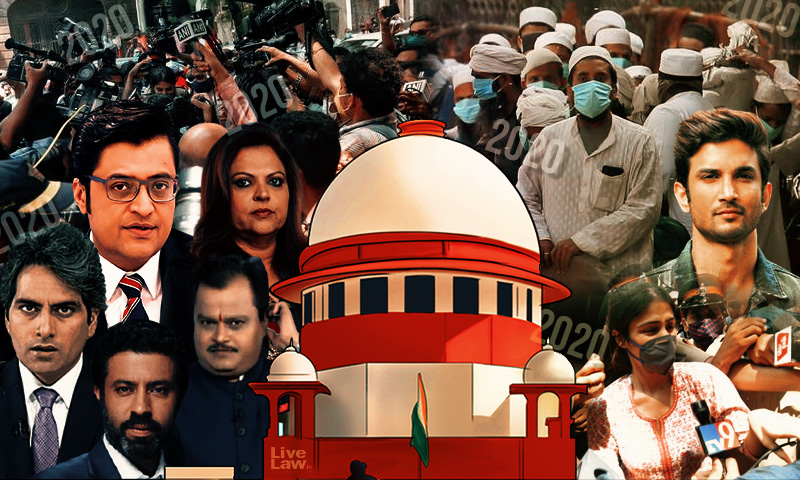 Hate Speech, Media Trial, Vilification : When Media Excesses Came Under Scrutiny In 2020