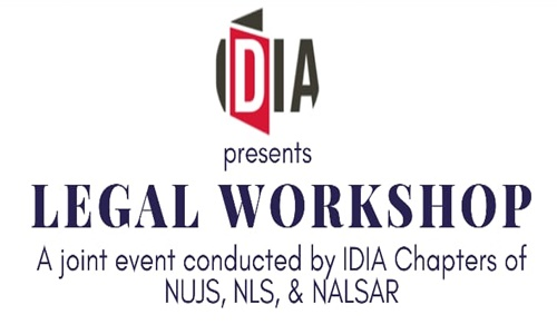 IDIA Online Legal Workshop 2020-21[ 9th & 10th January, 2021]
