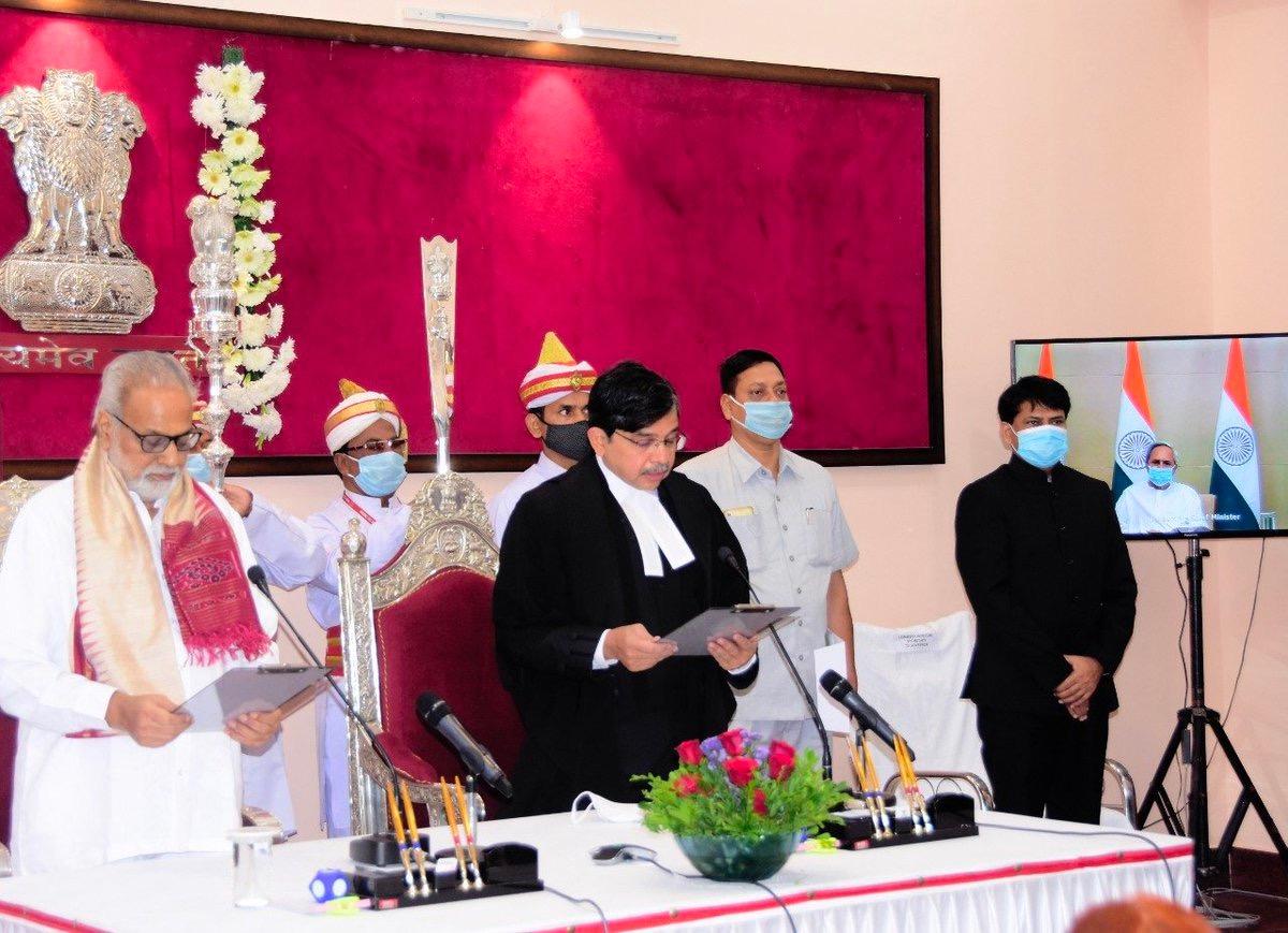 Justice Muralidhar Sworn In As Chief Justice Of Orissa High Court
