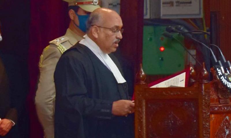 Justice Pankaj Mithal Sworn In As Chief Justice Of Jammu & Kashmir High Court