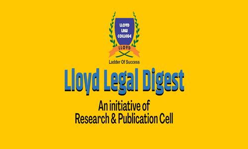 Internship Opportunity At Lloyd Legal Digest