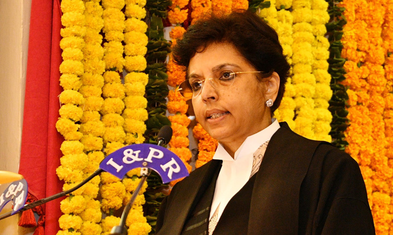 Justice Hima Kohli Sworn In As First Woman Chief Justice Of Telangana High Court