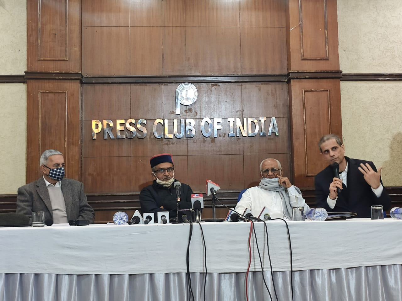 Raid On Mr. Mehmood Prachas Office Illegal, Says Justice Kolse Patil, Prashant Bhushan And Sr Advocate CU Singh