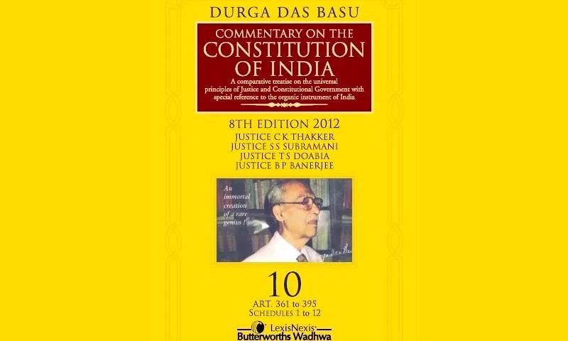 Durga Das Basu- A Tribute