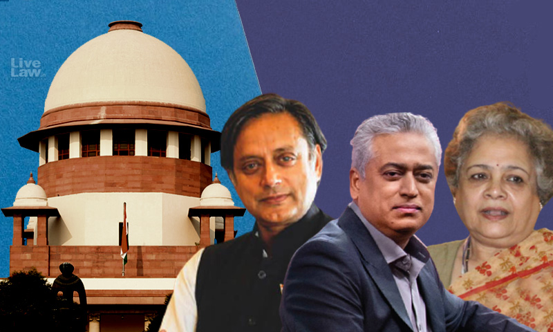 Breaking: Shashi Tharoor, Rajdeep Sardesai Move Supreme Court Against Multiple FIRs For Tweets On Sikh Youths Death During Farmer Protests