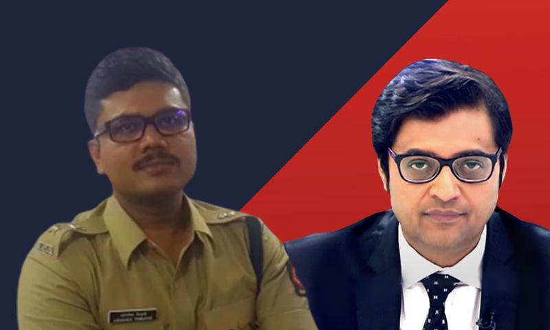Mumbai DCP Abhishek Trimukhe Files Criminal Defamation Case Against Arnab Goswami, Wife and Republic TV