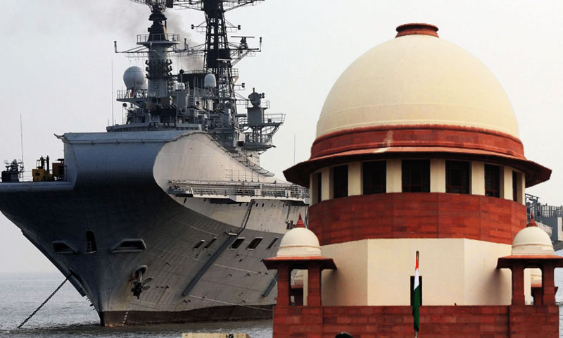 Too Late To Approach Court : Supreme Court Dismisses Plea Against Dismantling Of INS Viraat