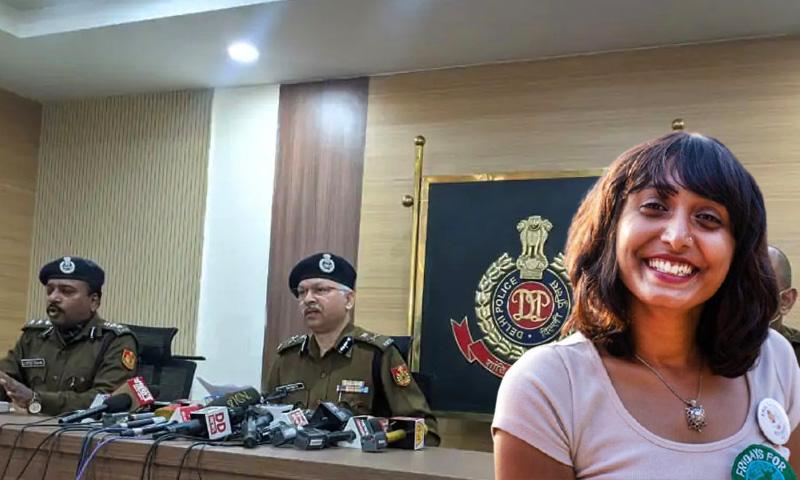 Disha Ravi Tool Kit Case Media Leak Delhi Police