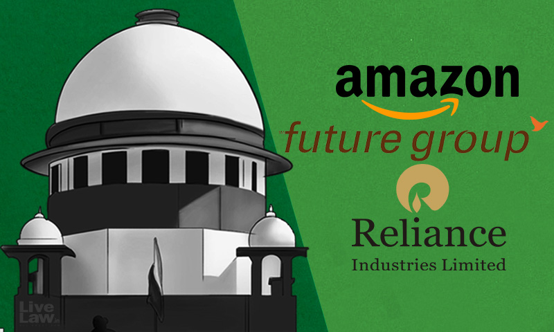 Biyanis Induced Amazon Into Deal With Future Retail; They Are Bound By Arbitration : Amazon In Supreme Court