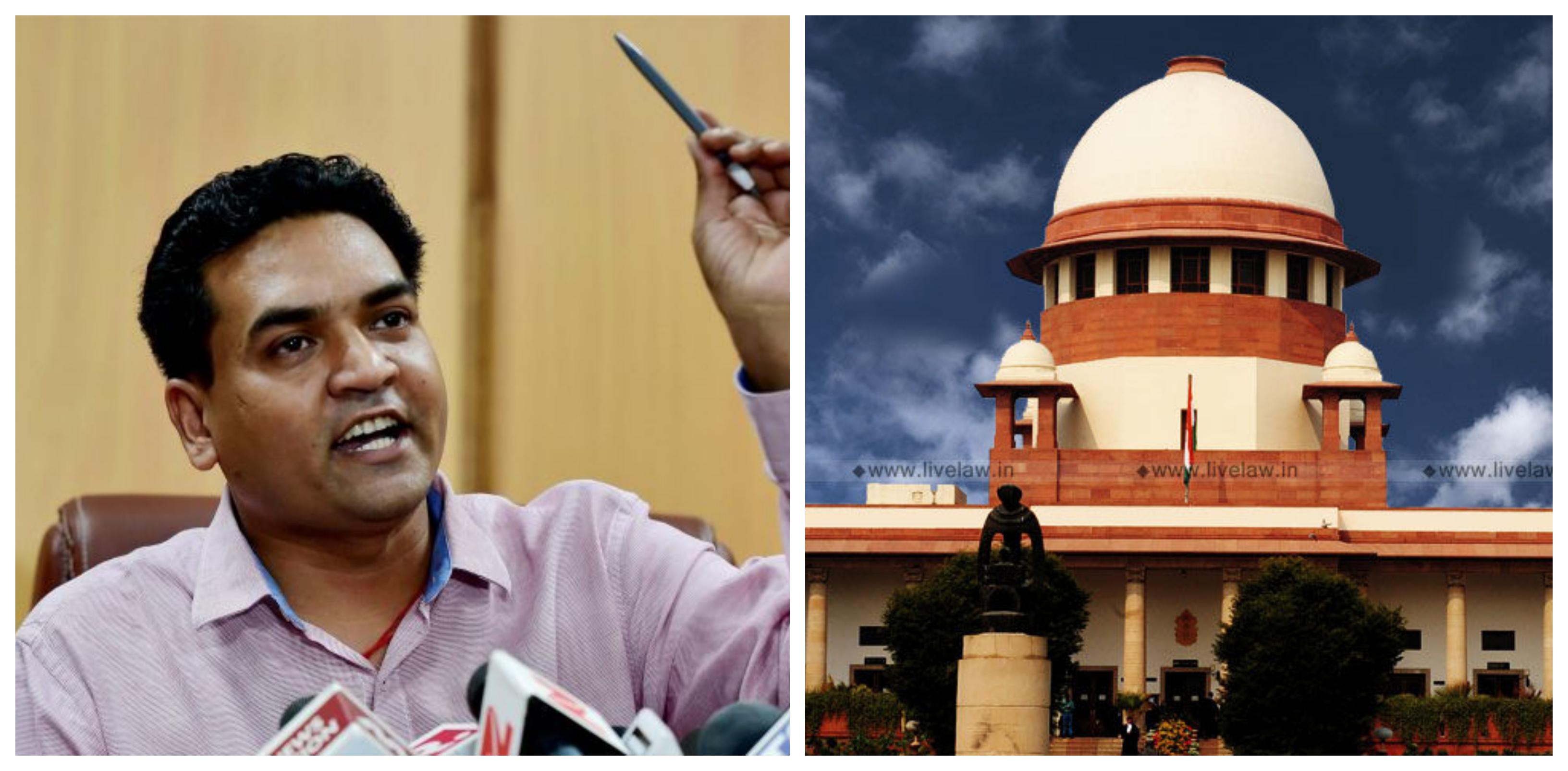 BJP Leader Kapil Mishra Moves Supreme Court Seeking Mechanism To Deal With False Criminal Cases