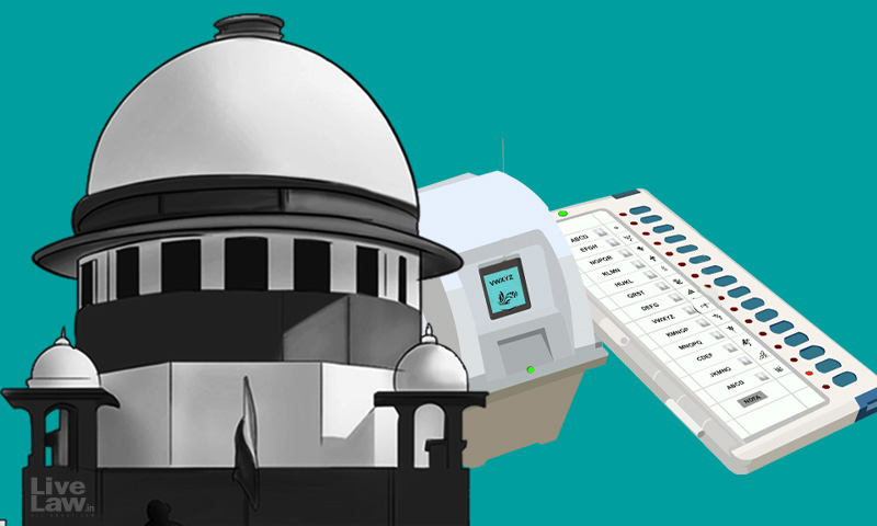 Plea To Replace Symbols With Details Of Candidates In EVMs : Supreme Court Asks Petitioner To Serve Copy On AG