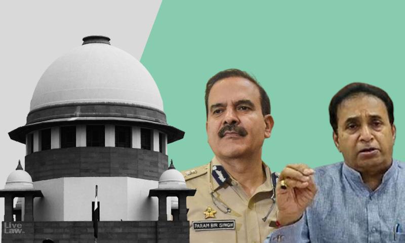 Breaking: Supreme Court To Hear Param Bir Singhs Plea Seeking CBI Probe Against Maharashtra Home Minister Anil Desmukh Tomorrow