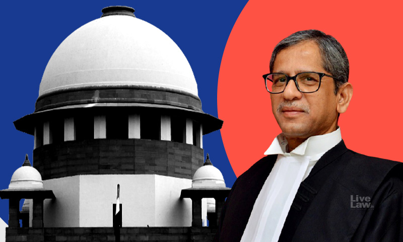 Judges Are Not Available, If A Bench Is Available, We Will See:CJI Ramana On Mentioning Of A Plea To Stop Construction  Activities In Central Vista Because Of COVID Surge