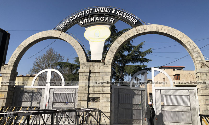 Judge Suspended By Jammu & Kashmir And Ladakh HC On Bar Associations Complaint Reinstated On Humanitarian Ground