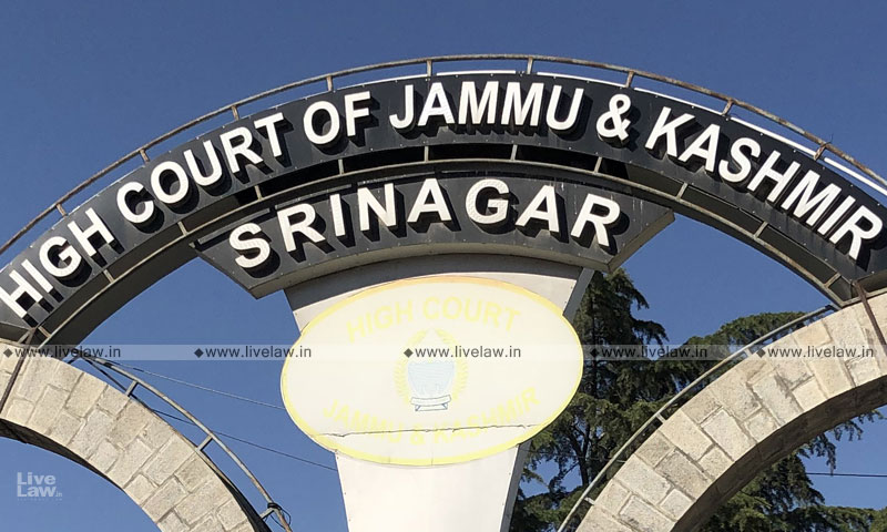 Procedural Requirements Are The Only Safeguards Available To A Detenue: J&K High Court While Quashing Detention Order