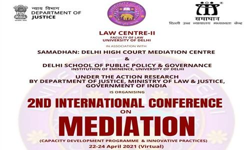 2nd International Conference On Mediation (Capacity Development Program & Innovative Practices) [Registrations Open]