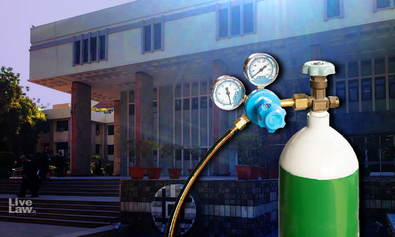 Plea Seeking Compensation For Families Of People Dying Due To Lack Of Oxygen: Delhi HC Directs Govt To Treat It As Representation