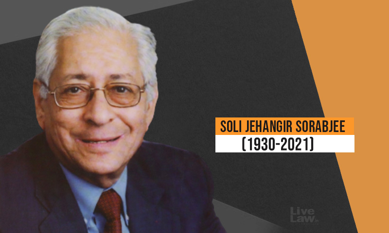 Soli Sorabjee: A Tribute