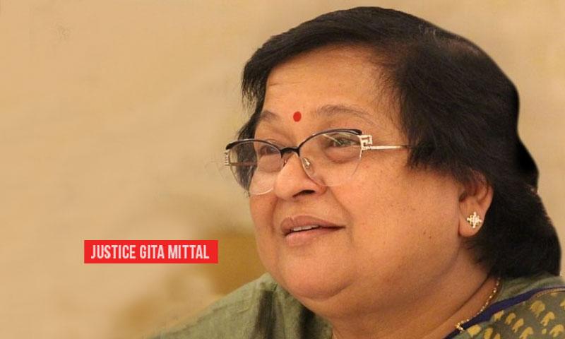 Justice Gita Mittal Conferred Arline Pacht Global Vision Award By International Association of Women Judges