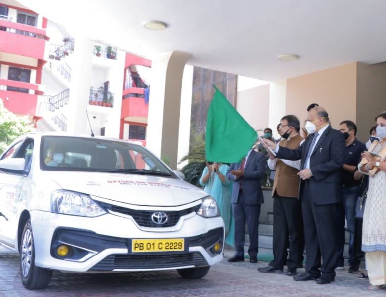 Haryana State Legal Services Authority Launches Oxygen On Wheels For COVID Relief