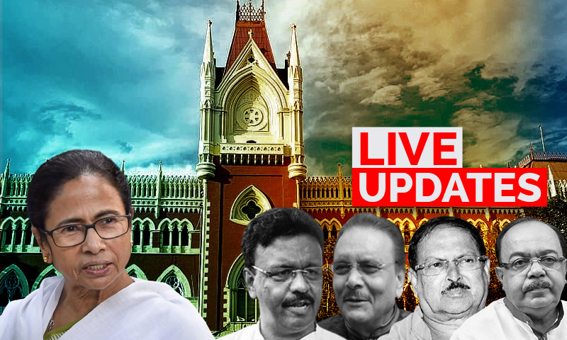 LIVE UPDATES - Narada Case Hearing : Calcutta High Court Orders House Arrest of TMC Leaders
