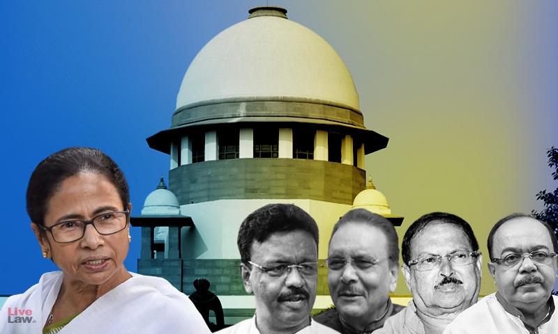 Breaking: CBI Withdraws Plea In Supreme Court Challenging Calcutta High Court Order Allowing House Arrest Of TMC Leaders In Narada Scam Case