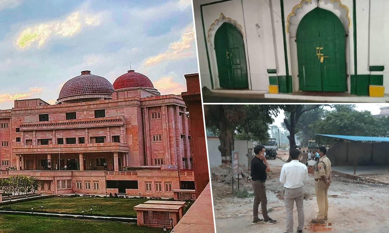 Prima Facie Raises Important Questions: Allahabad High Court Issues Notice On Pleas Against Demolition Of Gareeb Nawaz Mosque In UP