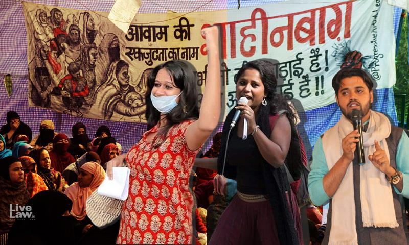 Right To Protest Not Terrorist Act Under UAPA : Delhi High Court Finds No Prima Facie Case Against Asif Iqbal Tanha, Natasha Narwal & Devangana Kalita