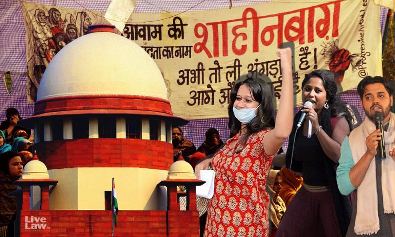 Breaking: Delhi Police Moves Supreme Court Against High Court Orders Granting Bail To Devangana Kalita, Natasha Narwal And Asif Iqbal Tanha