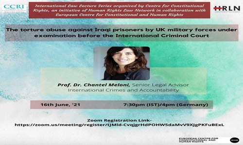 CCRI, HRLNS: International Law Lecture Series [Today, 7:30 PM]