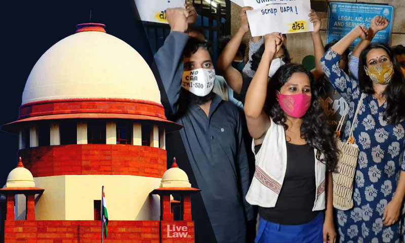 Very Unlikely, But You Can Try : Supreme Court To Delhi Police On Plea To Set Aside Bail Granted To Activists In Riots Case