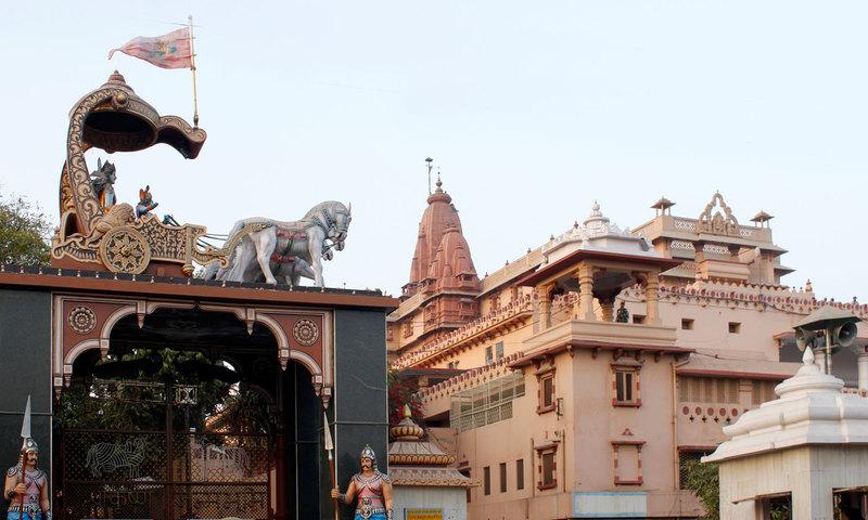 395432 krishna janmasthan temple.