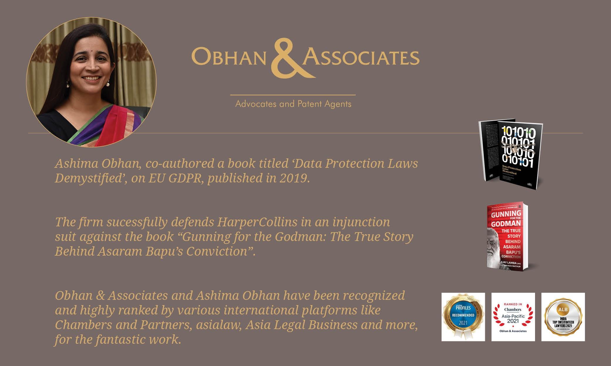 In Conversation With Ashima Obhan, Senior Partner, Obhan & Associates