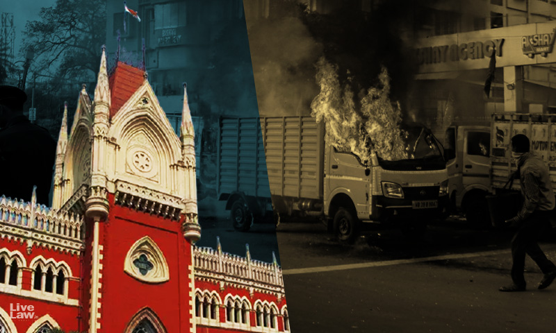 West Bengal Post-Poll Violence : Calcutta High Court Issues Contempt Notice To South Kolkata DCP Over Alleged Obstruction Of NHRC Team