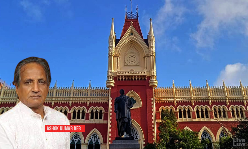 Plea In Calcutta High Court Seeks Disqualification Of Ashok Kumar Deb As MLA For Holding Office-of-Profit Of Bar Council Chairperson