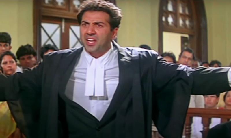 Tareekh Par Tareekh, Delhi Man, Shouts, Karkardooma Courtroom, Vandalises Furniture, Computers, Delay, Justice, Case Hearing, Sunny deol, Damini, Bollywood movie,