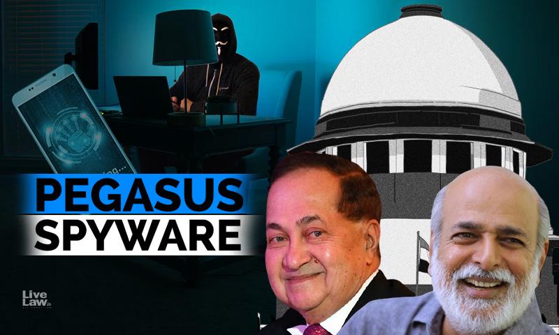 Pegasus Snooping : Supreme Court To Hear Next Week Senior Journalists Plea For Judicial Probe