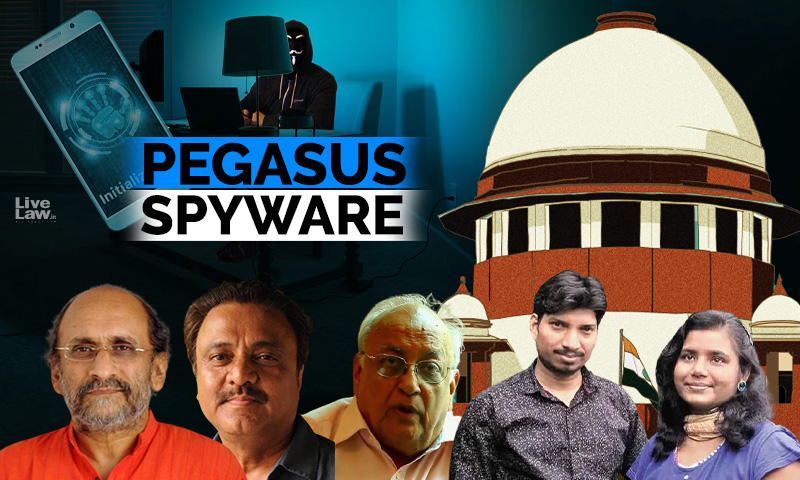 [BREAKING] Direct Centre To Disclose Use Of Pegasus Spyware : 5 Journalists On Potential Snoop List Move Supreme Court