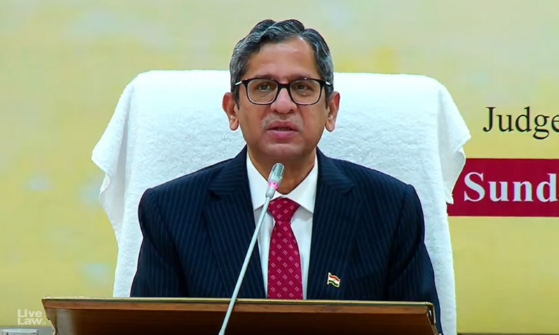 The Need Of The Hour Is the Indianisation of Our Legal System: Chief Justice NV Ramana
