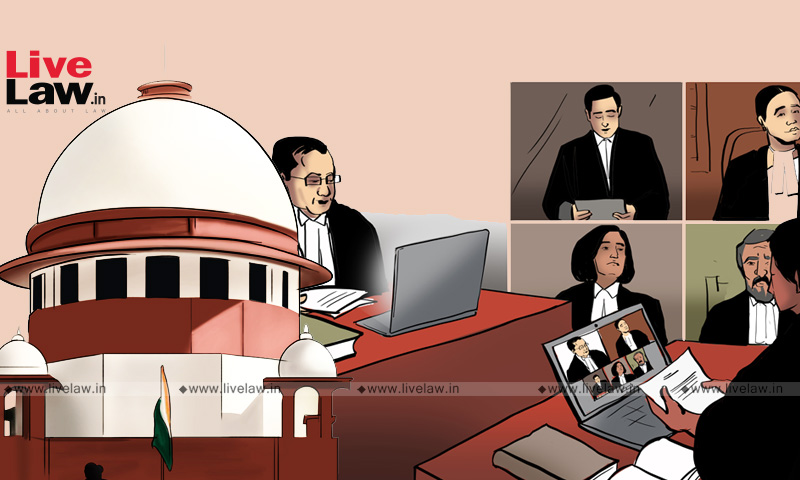 Plea In Supreme Court Seeks To Declare Virtual Court Hearing As Fundamental Right