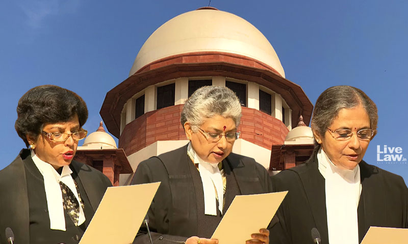 Breaking: Historic Moment As 3 Women Take Oath As Supreme Court Judges